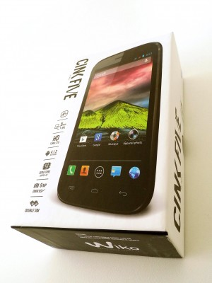 Wiko Zink Five
