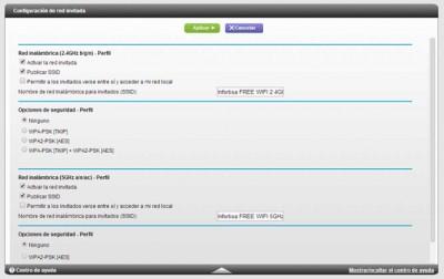 Configuración WiFi Invitados