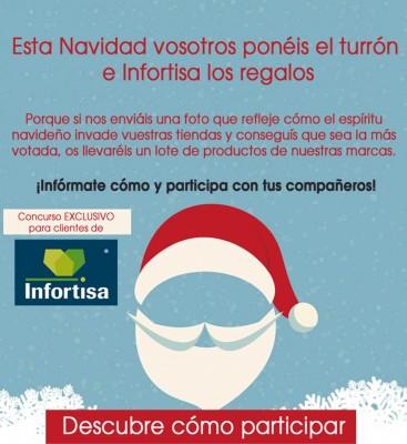 Infortisa Concurso Facebook - Navidad 2014