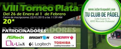 VIII Torneo Plata Infortisapadel.com