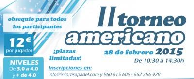 II Torneo americano Infortisapadel.com