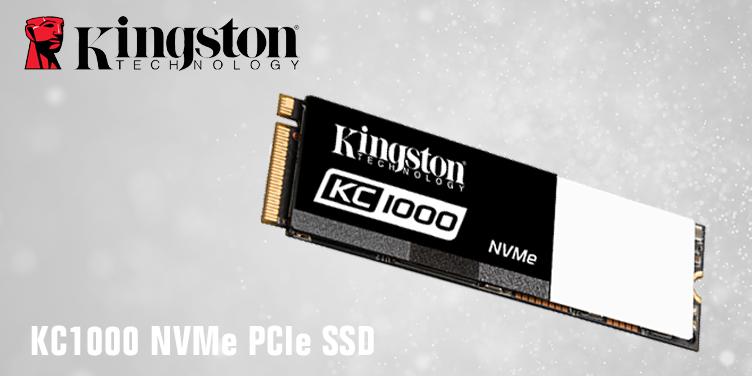 SSD PCIe NVMe KC1000