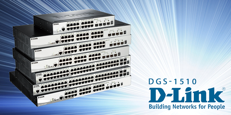 switches d-link smart pro gigabit
