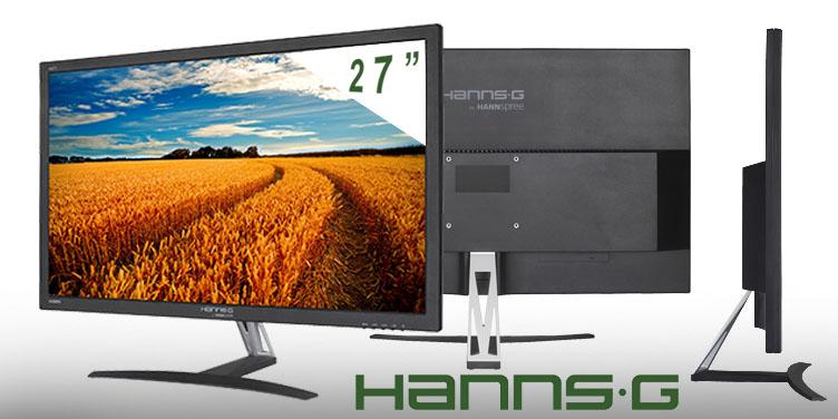 Pantalla para ordenador de la marca Hanns