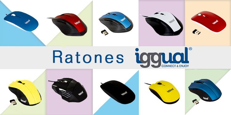 ratones para ordenador de la marca iggual