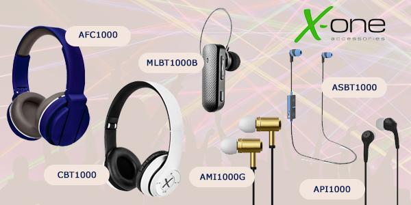 cascos de música X-One