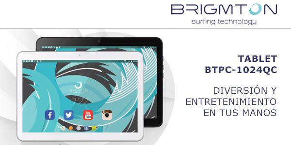 tableta de la marca Brigmton