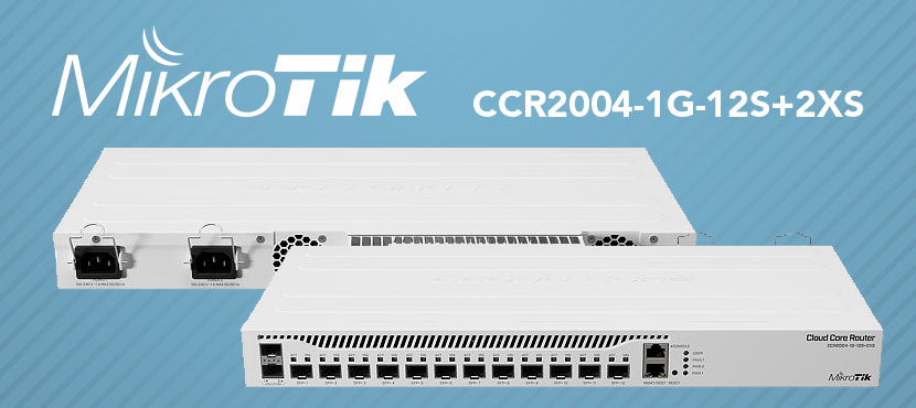 Router CCR2004-1G-12S+2XS MikroTik