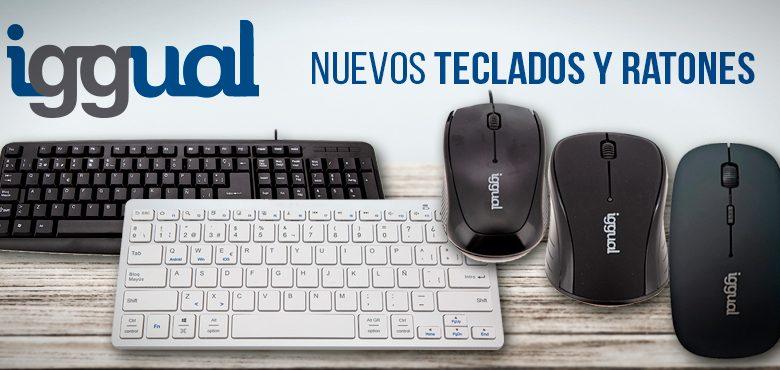 Nueva gama de ratones y teclados deiggual