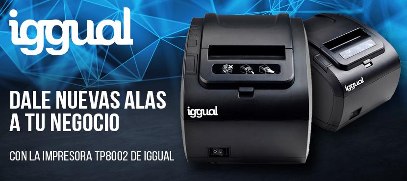 impresora tp8002 iggual