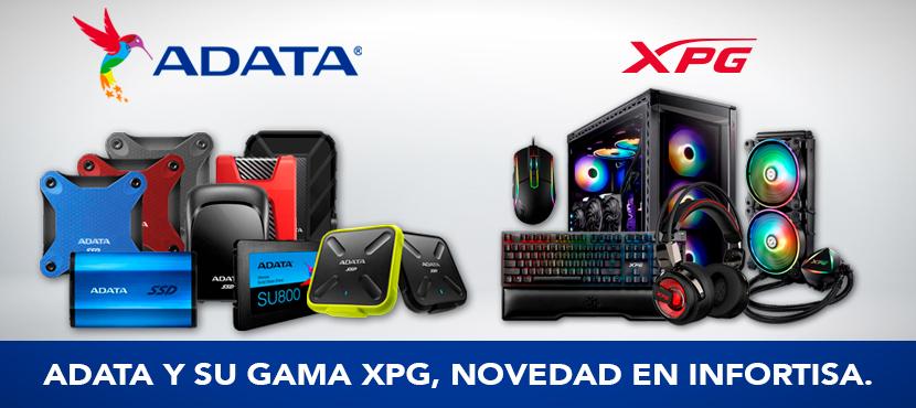La tecnología de ADATA y su gama XPG llegan a Infortisa